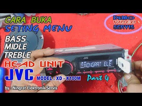 cara setting TONE control  HU JVC mobil Canter (video ke:104)