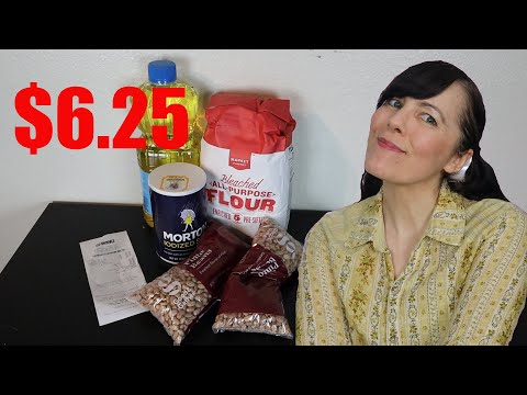 Groceries For $6.25 Per Week! (Extreme Emergency Food Budget)