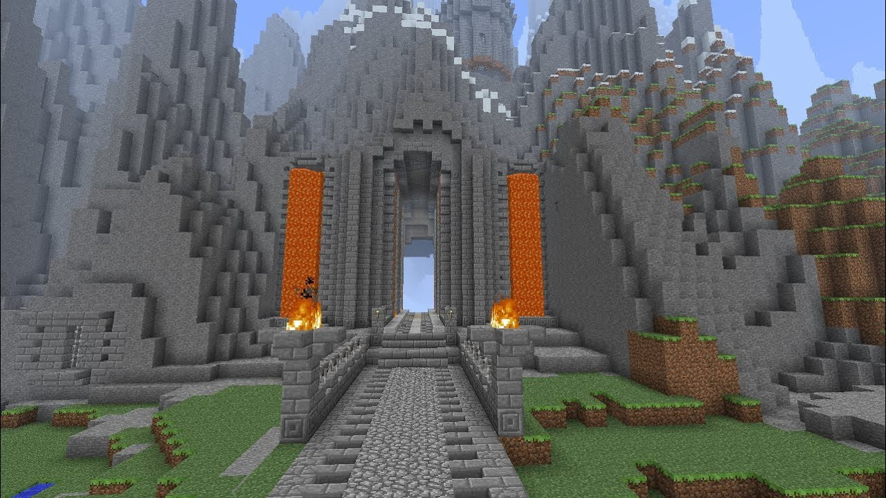 Minecraft Dwarven Caverns Moria Inspired Part 112