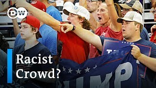 Trump crowd chants 'send her back' after Ilhan Omar remarks | DW News