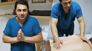 ASMR Супер интенсивный массаж спины от Спартака