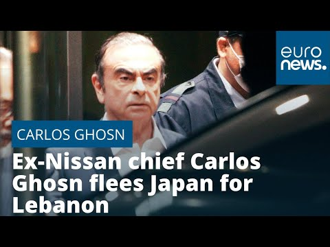 Ex-Nissan chief Carlos Ghosn flees Japan for Lebanon to avoid 'injustice'