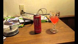 Monster Ultra Red: The First Taste