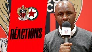 VIDEO: La réaction du coach Vieira après Nice-Red Star (2-1)