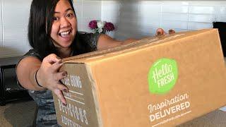 Hello Fresh Unboxing Video + Discount Code
