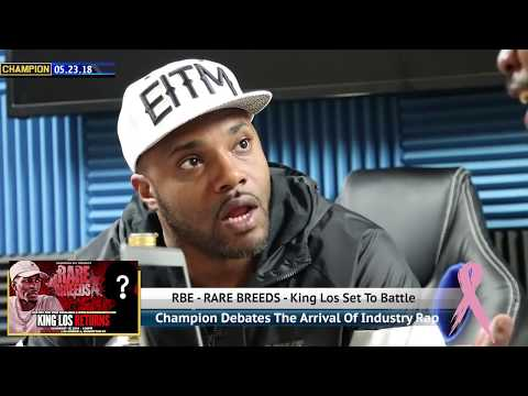 CHAMPION | KING LOS SET TO BATTLE ON RARE BREEDS - RBE