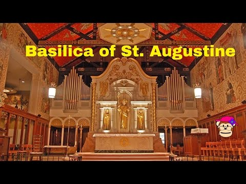 Cathedral Basilica of St. Augustine tour