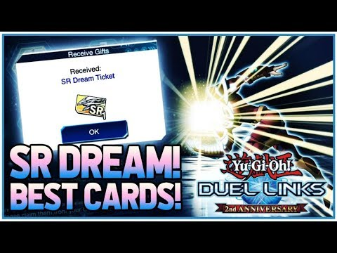 Yu-Gi-Oh! Duel Links | The BEST SR Dream Ticket Cards You Should Get! (2  Year Anniversary)
