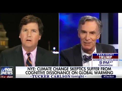 Watch Bill Nye school Tucker Carlson over Climate Denial