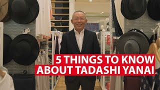 5 Things To Know About Tadashi Yanai | Conversation With | CNA Insider