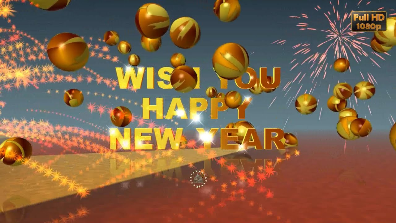 Free animated happy new year clipart download wallpaper full happy new year 2018 wishes whatsapp video new year greetings happy new year 2018 wishes whatsapp m4hsunfo