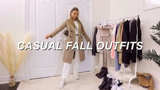CASUAL FALL OUTFITS 🍁 | aesthetic & trendy fashion lookbook 2020