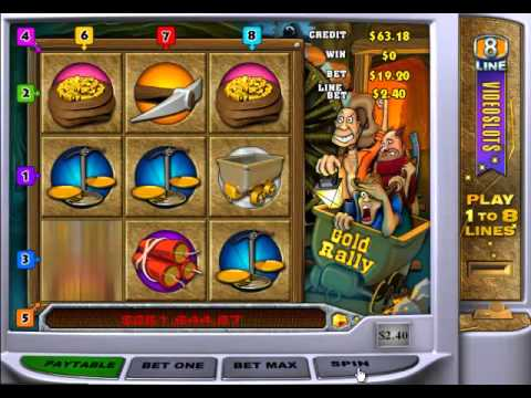 Gold Rally Progressive Slot