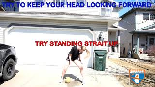 HANDBALL AT HOME-BALL HANDLING DRILLS