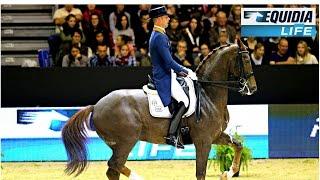 Hans Peter Minderhoud a battu Isabelle Werth sur le circuit Coupe du Monde !