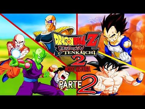 Dragon Ball Z Budokai Tenkaichi 2 Latino Modo Historia Parte 2 Goku Aparece En La Batalla