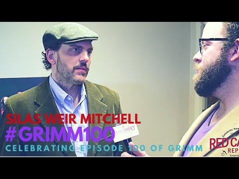"Silas Weir Mitchell at the Celebration of NBC's ""Grimm"" 100th Episode #Grimm #Grimm100"
