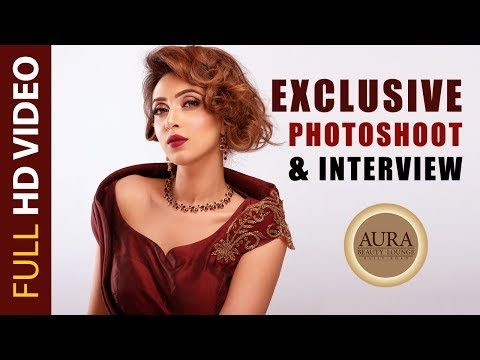 Bidya Sinha Mim | Exclusive  Photoshoot & Interview | AURA Beauty Lounge
