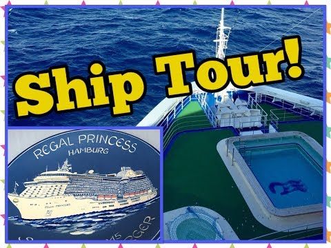 Regal Princess Tour! Princess Cruises