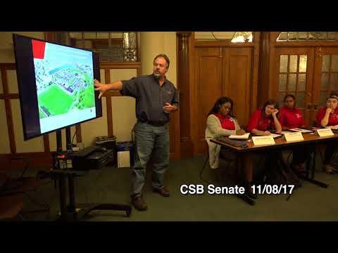 CSB Senate Meeting on 11/08/2017