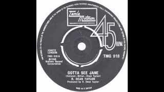 "R Dean Taylor - ""Gotta See Jane"" (UK Tamla Motown) 1974"