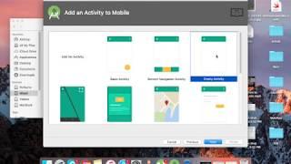 إنشاء مسابقة بسيطة التطبيق باستخدام android studio.