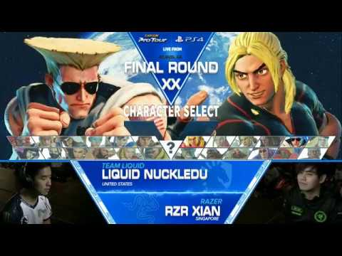 SFV: Liquid|NuckleDu vs RZR|Xian - Final Round XX Top 8 - CPT2017