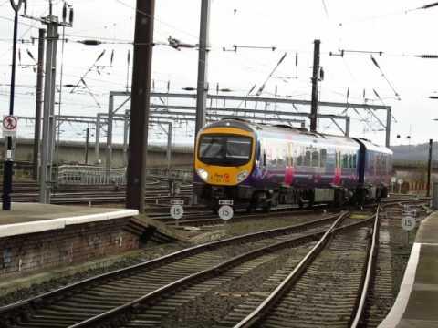 Newcastle Central Station Transpennine express