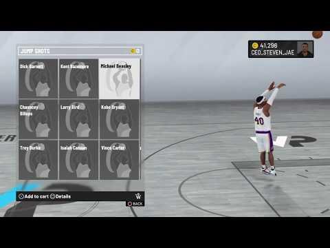 NBA 2K20 Michael Beasley Jump Shot