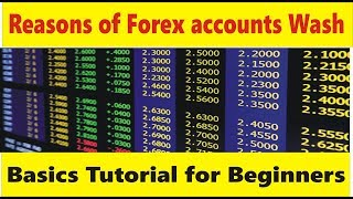 Definition of Account Wash In Forex trading | Tani basic tutorial for beginners in Hindi and Urdu