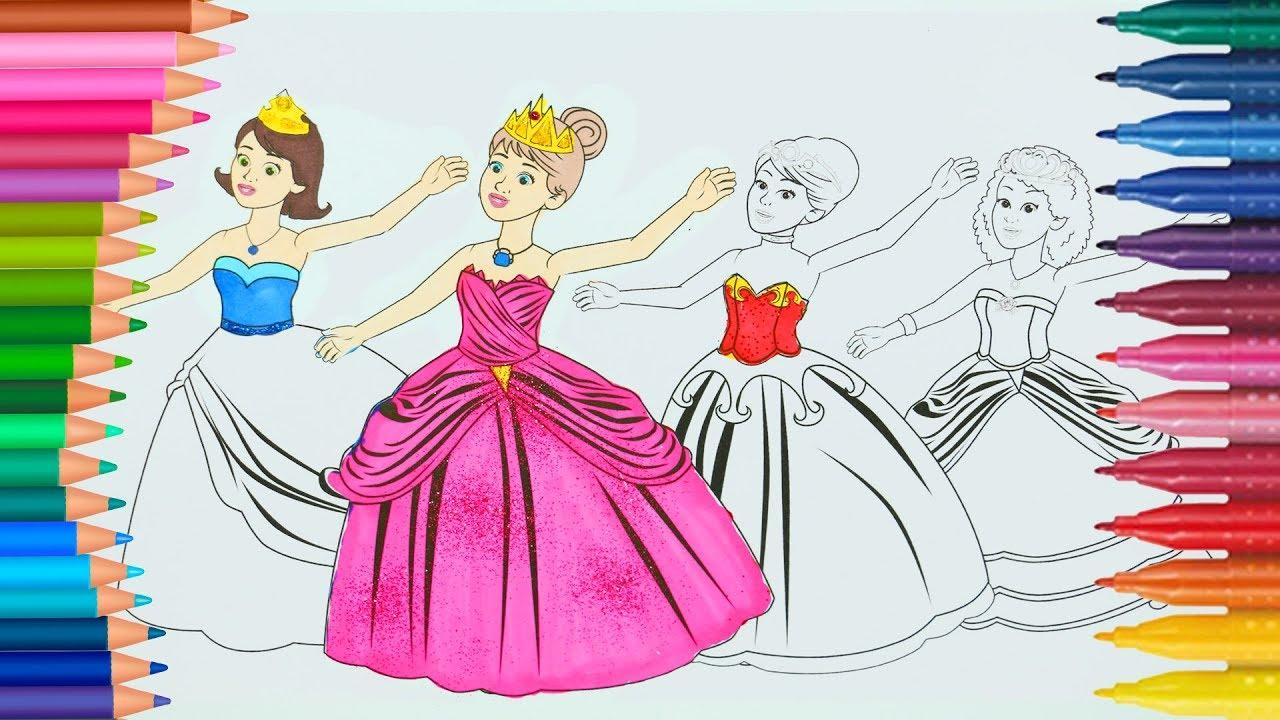 12 Dans Eden Prenses Powerpuff Girls Minik Eller Boyama Kitabı