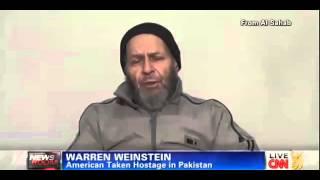 American Prisoner Warren Weinstein Al Qaeda Hostage Abandoned Video Plea