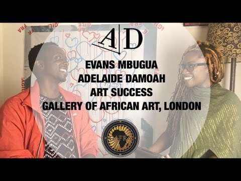 Evans Mbugua in Conversation with Adelaide Damoah. Art Discussion