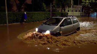 Maltempo a Palermo, strade e abitazioni allagate