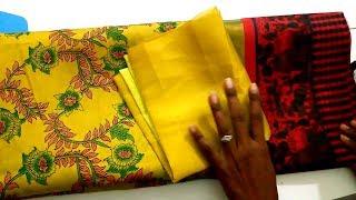 Cotton Saree Blouse Design | [Diamond Neck] Blouse Design Stitching Class