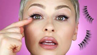 How I Apply FaĮse Eyelashes PERFECTLY