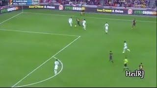 فرصة كادت أن تكون الهدف الأفضل لـ #داني_ألفيس في تاريخه !Dani Alves vs Cristiano Ronaldo
