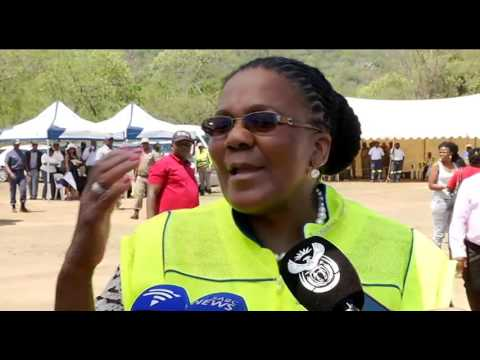 Minister of Transport Dipuo Peters launchesTransport Month 2015
