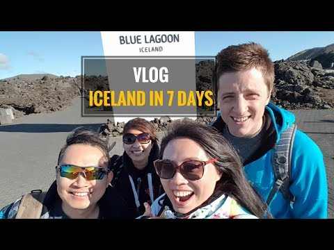 7 Days Itinerary - Iceland Ring Road Trip [HD]