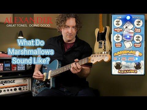 Alexander Pedals Marshmallow Pitch Shifter/Modulator