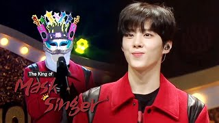 Woo Seok is a genius vocalist who needs to have his voice insured [The King of Mask Singer Ep 250]