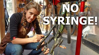The better (and easier) wąy to bleed Shimano brakes | Syd Fixes Bikes