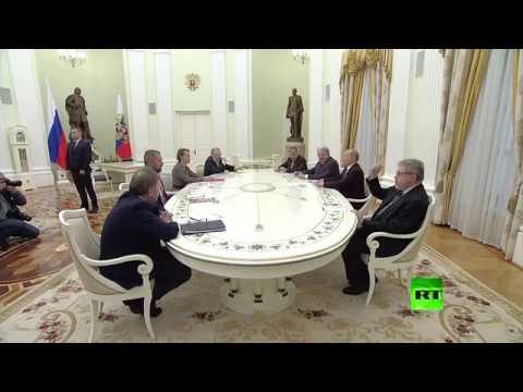 بوتين لمنافسيه السبعة: سنعزز الجيش ولن ننجر إلى سباق تسلح  - نشر قبل 1 ساعة