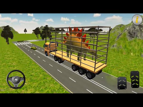 jurassic-animal-transport-simulator-#2---zoo-construction-games---android-gameplay-hd