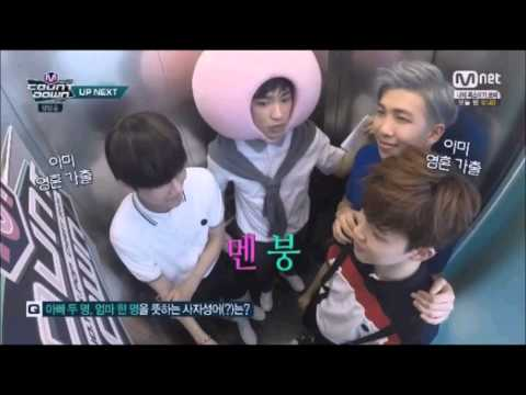 [150507] M! Countdown : BTS and GOT7's Jinyoung