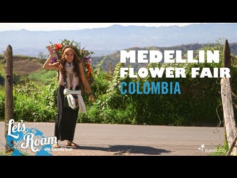 Making Silletas for the Medellin Flower Fair | Let's Roam Colombia with Avianca
