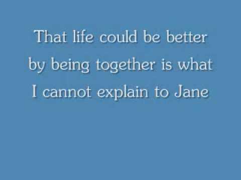 Jane w/lyrics
