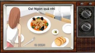 Luyện Nghe tiếng Hàn qua phim hoạt hình Clip1