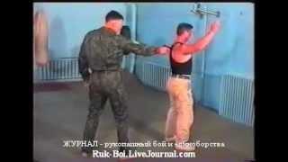 #2-5 обезоруживание противника ВДВ России десантура рукопашный бой спецназа обучение приемы