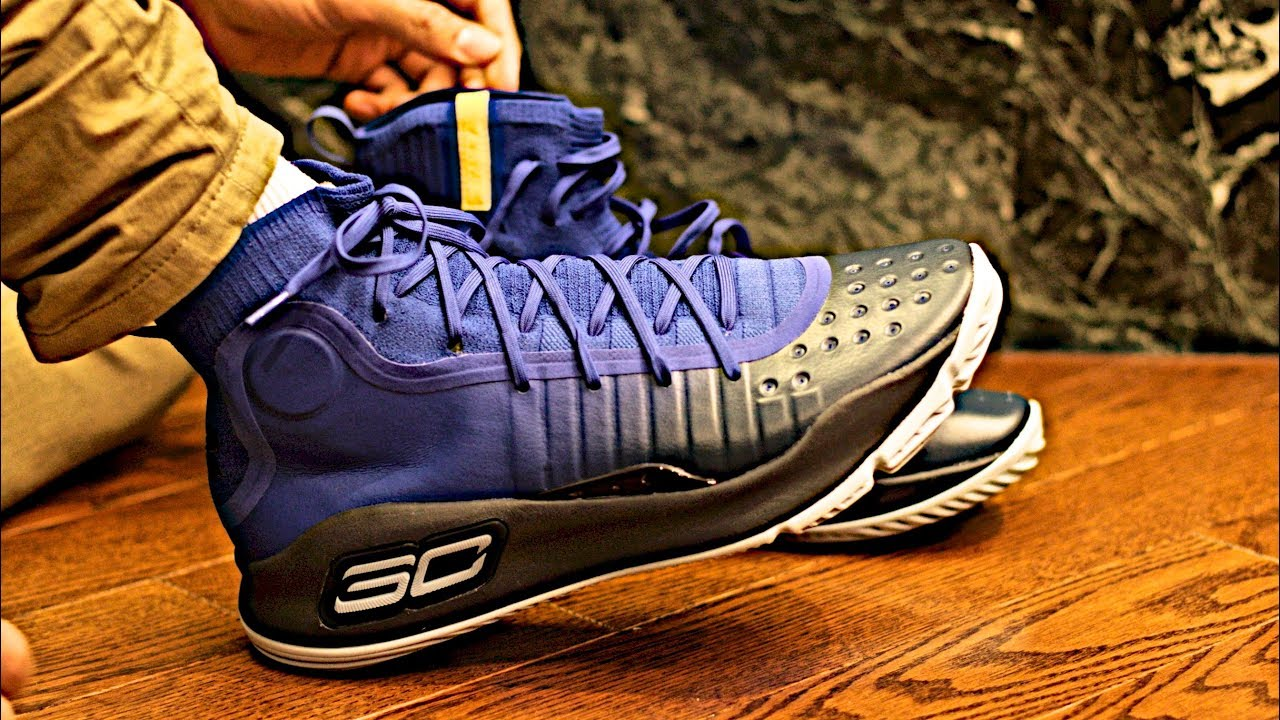hot sale online 12b4e 16ab8 Under Armour UA Stephen Curry 4: A Comprehensive Sneaker Review, Unboxing  and On-Foot Preview